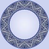 niebieski płytki ilustracja wektor