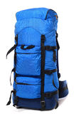 niebieski plecak Obrazy Stock
