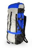 niebieski plecak turysta Zdjęcia Stock