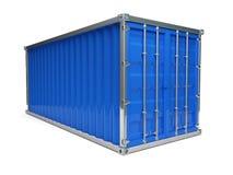 niebieski pojemnika Obraz Stock