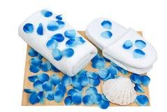 niebieski preaparation spa Zdjęcia Stock