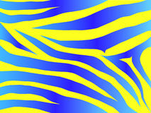 niebieski projektu tygrys Fotografia Royalty Free