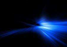 niebieski promień Obrazy Stock