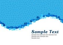 niebieski proste szablonu Zdjęcie Royalty Free