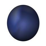 niebieski przycisk ciemności sieci Zdjęcia Royalty Free