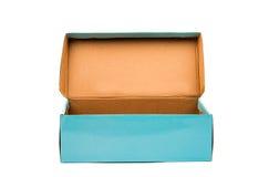 niebieski pudełka prezent Obrazy Stock