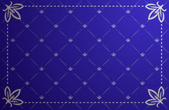 niebieski ramowy ilustracyjny rocznik wektor ilustracja wektor
