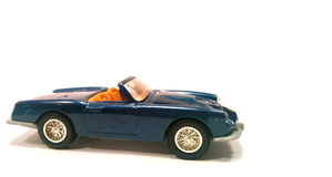 niebieski samochód luksus Obrazy Royalty Free