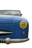 niebieski samochód roczne Obrazy Royalty Free