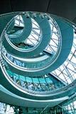 niebieski spirali Zdjęcia Stock