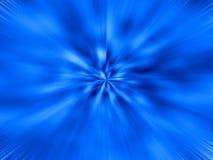 niebieski starburst Fotografia Royalty Free