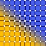 niebieski tła żółty ilustracji