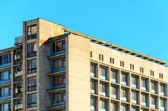 niebieski tła architekturę kompasowy głębokie rysunek Część żywy budynek Zdjęcia Stock