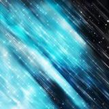 niebieski tła blask Obrazy Stock