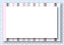 niebieski tła kropek płatowaty wektora Zdjęcia Royalty Free