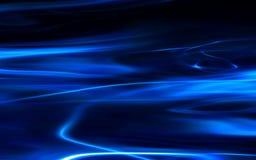niebieski tła płynie royalty ilustracja