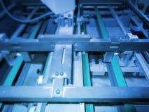 niebieski tła technologii, Zdjęcia Stock