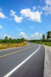 niebieski uliczny niebo Zdjęcie Stock