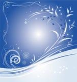 niebieski w boże narodzenie Zdjęcia Stock
