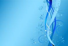 niebieski w boże narodzenie Zdjęcie Stock