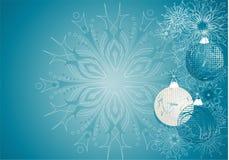 niebieski w boże narodzenie ilustracja wektor
