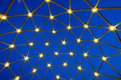 niebieski wzór abstrakcyjne Obraz Royalty Free