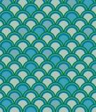 niebieski wzorca skali Obraz Stock