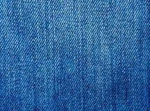 niebieskich dżinsów materialna część tekstura Zdjęcia Royalty Free