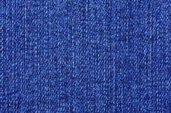 niebieskich dżinsów materialna część tekstura Obrazy Stock