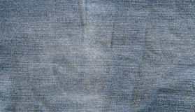niebieskich dżinsów materialna część tekstura zdjęcie stock