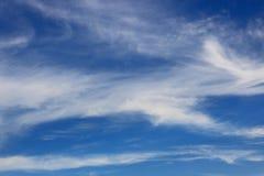 Niebieskich nieb coulds Zdjęcie Royalty Free
