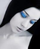 niebieskich oczu kobiety potomstwa Zdjęcie Royalty Free