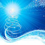 niebieskie święta ilustracja wektor