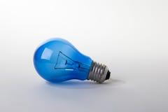 niebieskie światła żarówki Obrazy Stock