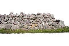niebieskie światło sztuczne kamienna ściana Obrazy Stock