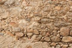 niebieskie światło sztuczne kamienna ściana Zdjęcie Royalty Free