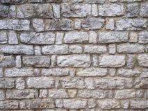 niebieskie światło sztuczne kamienna ściana Zdjęcia Royalty Free