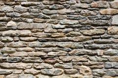 niebieskie światło sztuczne kamienna ściana Fotografia Stock