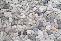 niebieskie światło sztuczne kamienna ściana Obrazy Royalty Free