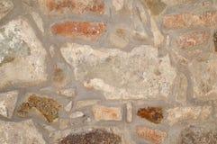 niebieskie światło sztuczne kamienna ściana Tekstura natura Tło dla teksta, sztandar, etykietka Obrazy Royalty Free