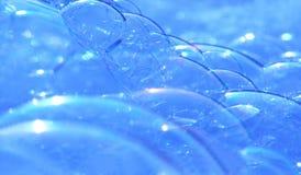 niebieskie bąbelki obrazy stock