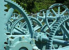niebieskie biegów Zdjęcie Royalty Free