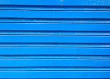 niebieskie drzwi Obrazy Stock