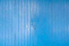 niebieskie drzwi drewniane Fotografia Royalty Free