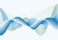 niebieskie fale Obrazy Stock