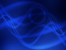 niebieskie fale ilustracja wektor