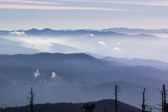 niebieskie góry Zdjęcia Royalty Free