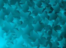 niebieskie gwiazdy Fotografia Royalty Free
