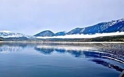 niebieskie jeziorne góry Obraz Stock