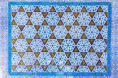 niebieskie kafli Obraz Royalty Free